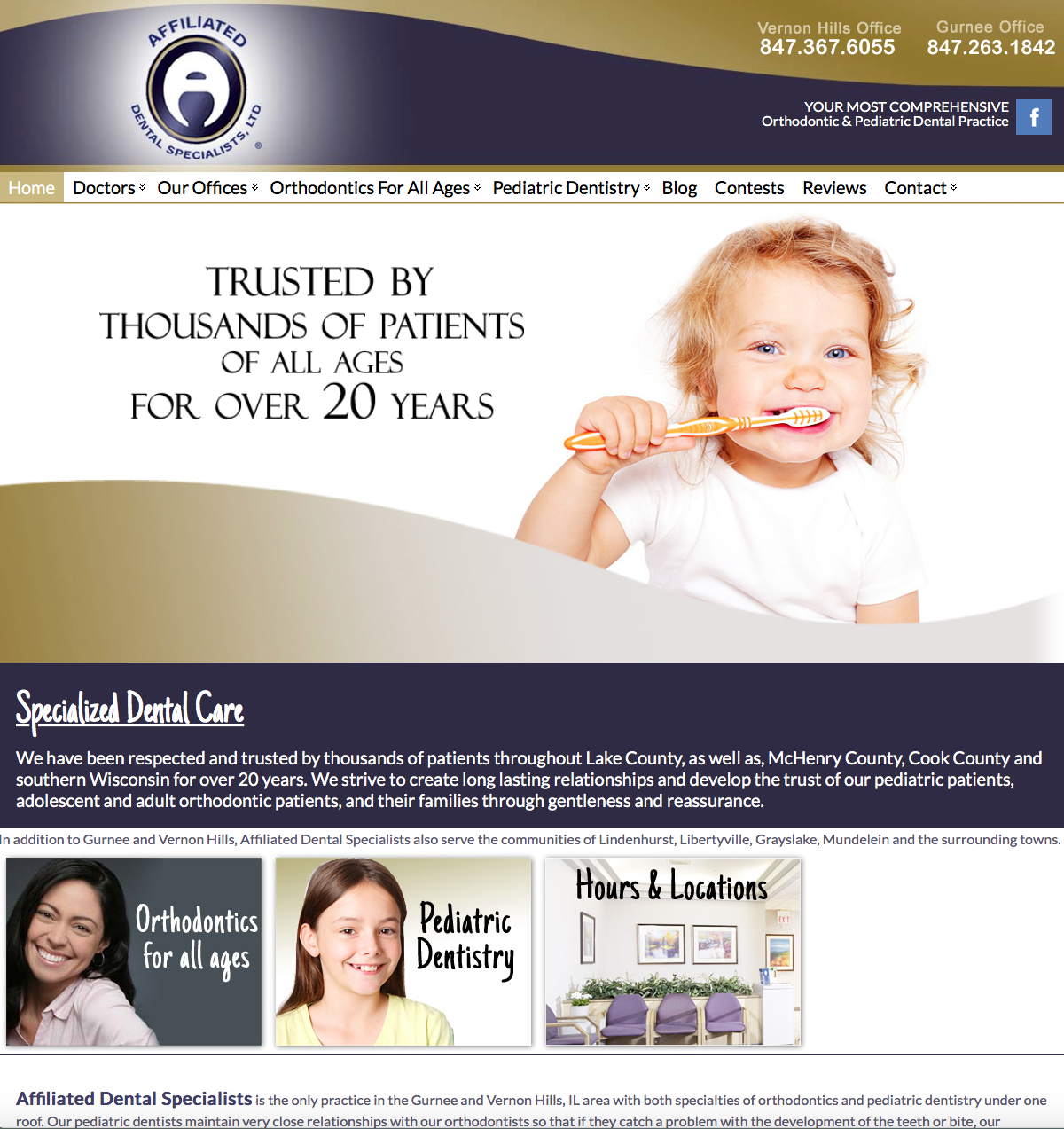 Website-Affiliated-Dental-Specialists