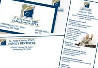 stationery design | Midwest Dental Solutions